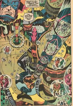 Cap'n's Comics: New Jack Cities Part I by Jack Kirby