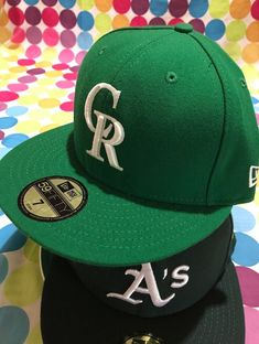 71bc82eb194 NEW ERA 59FIFTY Official MLB Colorado Rockies Kelly Green New  fashion   clothing  shoes  accessories  mensaccessories  hats (ebay link)