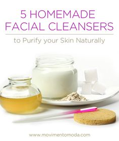 great homemade ideas to clean your skin