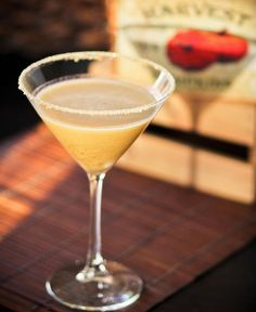 Pumpkin Pie Martini...yeah yeah I know it's not fall but pumpkin is good all the time!