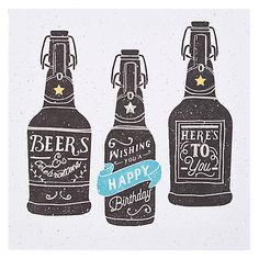 Buy Hotchpotch Beers Birthday Card Online at johnlewis.com