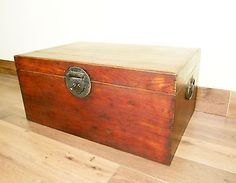 Antique Chinese Ming Trunk (5530), Circa 1800-1849