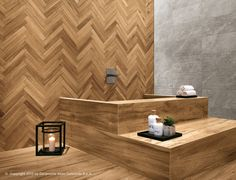 Natural wood inspiration for original projects: Etic PRO by Atlas Concorde