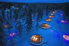 HOTEL KAKSLAUTTANEN, KAKSLAUTTANEN, FINLANDIA: En el corazón de Laponia se encuentra el Hotel Kaksla... - Hotel Kakslauttanen. Texto: Redacción Traveler
