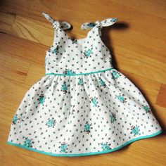 itty bitty baby dress tutorial and pdf (also link for toddler dress too to match)