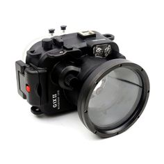 176.00$  Buy now - http://alibyr.worldwells.pw/go.php?t=32614381317 - Meikon 60m/195ft Underwater Waterproof Camera Housing Case for Canon Power shot G1X II G1X Mark II