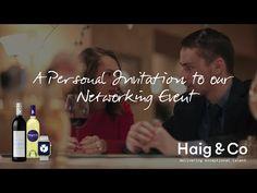 Haig & Co event promo video