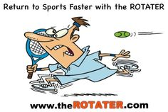 What happens when a shoulder injury prevents you from playing the sports you love? The ROTATER helped Bob Young return to the sports he loves . Shoulder Injuries, Sports, Hs Sports, Sport
