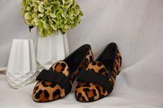 Konstantin Starke Leopard print bow loafers. Via zumnorde  These are absolutely fabulous!