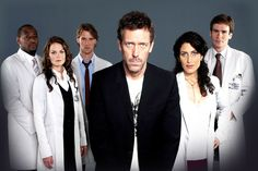 House MD - original cast, back when it was awesome. House Md, Addison Montgomery, Robert Sean Leonard, Gregory House, Jesse Spencer, Nurse Jackie, Hugh Laurie, Jennifer Morrison, Seinfeld