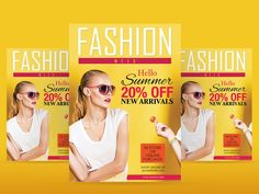 Fashion Flyer Template PSD