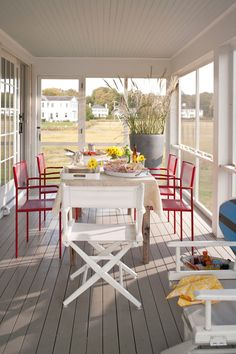12 Screened Porches for Summer Fun - Town & Country Living
