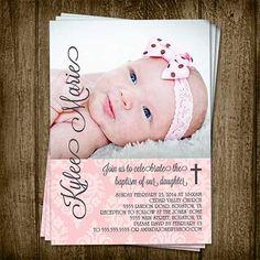 inviti battesimo con foto