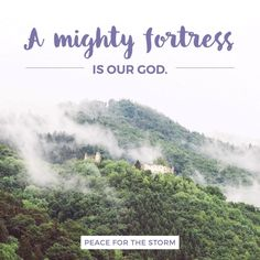 A mighty fortress is our God / A bulwark never failing
