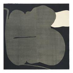 """sTd."" Woodblock printing, oil based ink printed on paper, 2005, 100x100cm, Yasuyoshi Tokida, 常田泰由"