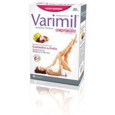 Varimil em comprimidos da Farmodiética - fantástico suplemento para o combate da sensação de pernas cansadas e pesadas http://clinicabiologica.com