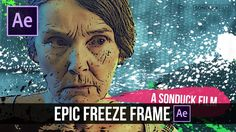 After Effects - Epic Freeze Frame Animation