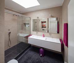 Marvelous Finde moderne Badezimmer Designs Fugenloses Bad mit Beton Cir Entdecke die sch nsten Bilder zur