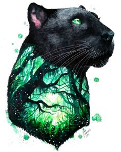 Black Panther by Jonna Lamminaho: