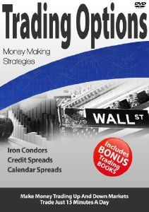 Stock Market Options Trading Education - Professional High Probability Spread Strategies, Iron Condor, Credit Spreads, Calendar Spreads, Calls and Puts, Hours of Video (2008)