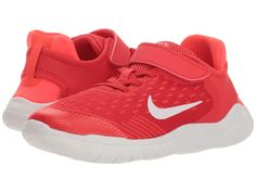 2310da3ed5ae SEE IT - Nike Kids Free RN 2018 (Little Kid) (Speed Red Vast Grey Bright  Crimson) Boys Shoes Nike keeps them light on their feet with the Free RN ...