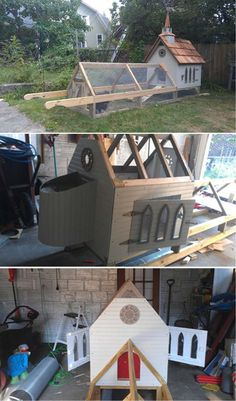 Chicken Chapel | 15 More Awesome Chicken Coop Ideas and Designs