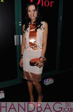 Wendi-Murdoch-attends-the-Dior-pop-up-shop-featuring-Anselm-Reyle-for-Dior-at-Miami-Design-District-on-November-29,-2011-in-Miami-City-Louis-Vuitton-colorblock-clutch