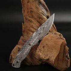 V9 Damascus Knife Blanks Sharp Fixed blade Hunting Knife camping knifeblade billet 57HRC Diy Knife, Outdoor Knife, Knives, Blade, Knife Making, Knifes, Llamas