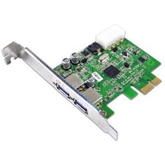 Anker PCI Express to SuperSpeed USB 3.0 2-Port Expansion Card for Desktops ( w/ 4 pin male molex connector) (Personal Computers)  http://www.amazon.com/dp/B005ARLRXM/?tag=goandtalk-20  B005ARLRXM