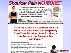 Product Name: Shoulder Pain Treatment, Rotator Cuff Injury Treatment Back Pain Remedies, Stop Overeating, Back Pain Exercises, Workout Exercises, Me Condition, Shoulder Injuries, Rotator Cuff, Online Security, Back Pain Relief