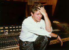 David Bowie recording Labyrinth soundtrack