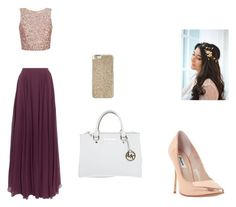"""""""Untitled #62"""" by ashlyn-burchette on Polyvore featuring Halston Heritage, Michael Kors and Dune"""