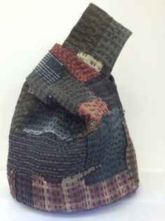 Boro Inspired Reversible Loop Bag.