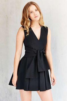 Keepsake High Tide Twist-Front Dress - Urban Outfitters