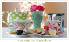 Cute printables for a tea party