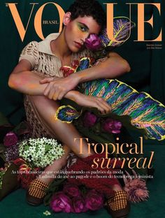 Vogue Covers, Vogue Magazine Covers, Fashion Magazine Cover, Fashion Cover, Daily Fashion, Brazil Fashion, India Fashion, Vogue Photography, High Fashion Photography