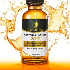 Best Vitamin C Serum 20% for Face - Organic Age Spot Remover & Pore Minimizer - Anti Aging Melasma Treatment Cream with Hyaluronic Acid & Natural Antioxidants - Wrinkle Reducer and Dark Spot Corrector - Topical Skin Care Beauty Product for Women & Men Clarigenics http://www.amazon.com/dp/B00HMUDJXG/ref=cm_sw_r_pi_dp_XnsMub1T9QRY9