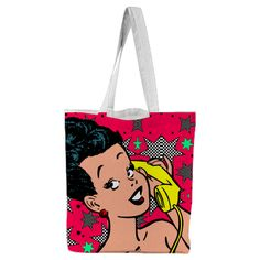Shop CALL ME Tote Bag by THE GRIFFIN PASSANT STREETWEAR (STREETWEAR) | Print All Over Me