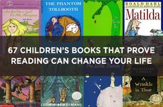67 Children's Books That Prove Reading Can Change Your Life