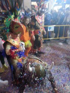 Batalla de la flores, Carnaval de Málaga 2015.