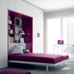 Łóżko w szafie. Praktyczny mebel do małego pokoju  - zdjęcie numer 10