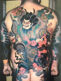 Horitsune II Japanese Art Styles, Traditional Japanese Tattoos, Boy Tattoos, Tatoos, Tattoo You, Back Tattoo, Japanese Tattoo Art, Skin Art, Tattoo Inspiration