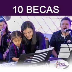 Participa del sorteo de 10 Becas para estudiar en la Escuela de Música Dones y Talentos en 2020.  Suscríbete antes del 25 de octubre. Conoce más:  #donesytalentos #donesytalentosbecas Studying, Prize Draw, October, Musicals, Blue Prints