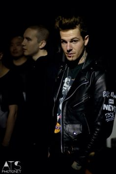 jesse rutherford-- it's weird seeing him in color