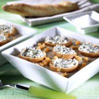 creamy mushroom soup wild mushroom soup with blue cheese toasts cheese ...