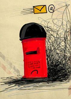 Sad Mailbox