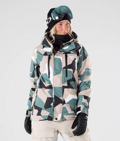 Planks Veste De Ski Reunion Soft Shell Jacket British Camo
