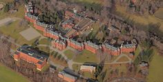 Danvers State Insane Asylum, the Kirkbride Complex consisted of 17 buildings erected between 1874-1878
