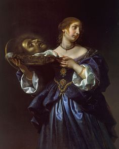 """rubenista: """"Carlo Dolci, Salome with the Head of St John the Baptist, 1655-1670 """""""