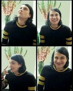 Frank Iero // My Chemical Romance Frank Iero, My Chemical Romance, Mcr Memes, Chris Tomlin, Mikey Way, Black Parade, Bob Seger, A Day To Remember, Gerard Way